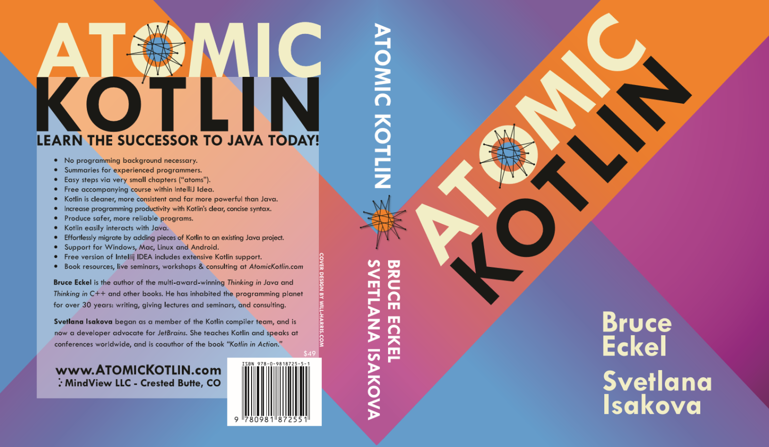Atomic Kotlin Book Cover
